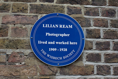 Lilian Ream Blue Plaque